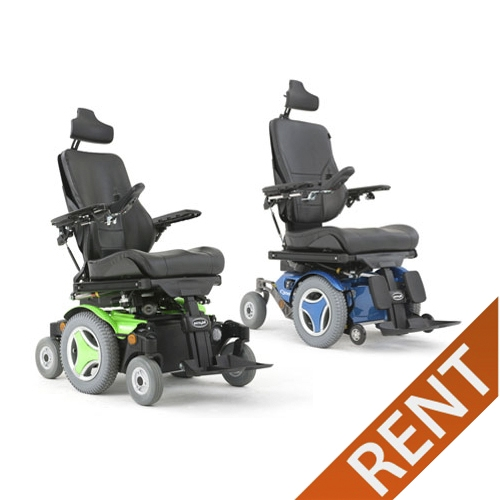 Permobil C300/M300 Tilt, Recline, Power Legs Power Wheelchair Rental